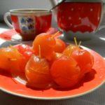 Варенье из райских яблок с хвостиками прозрачное – рецепт с лимоном от моей бабушки