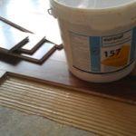 Клей для паркета на бетонную стяжку или фанеру