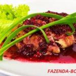 Ягодный соус к курице и мясу – рецепт приготовления