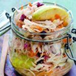 Капуста квашеная с яблоками и морковью на зиму – классический рецепт