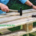 Как можно использовать деревянные паллеты для сада и огорода