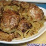 Как приготовить печень говяжью вкусной и мягкой на сковороде с луком